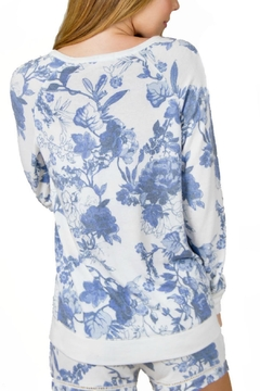P.J. Salvage Floral Print Sweater - Alternate List Image