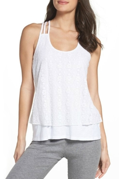 P.J. Salvage Lace Racerback Tank - Product List Image