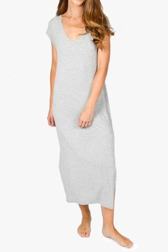 P.J. Salvage Long Grey Gown - Product List Image