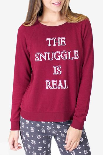 Shoptiques Product: Long Sleeve Snuggle Sweater - main