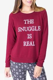 Shoptiques Product: Long Sleeve Snuggle Sweater - Front cropped