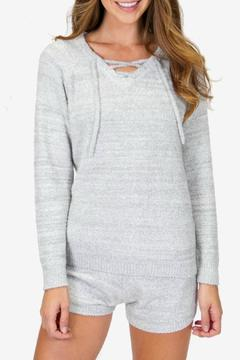 Shoptiques Product: Longsleeve Fuzzy Top