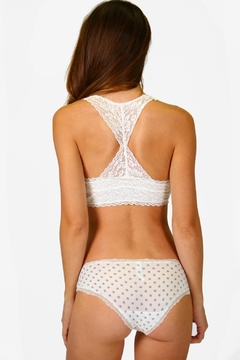 P.J. Salvage Racerback Lace Bralette - Alternate List Image