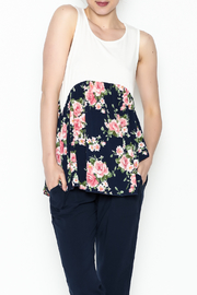 P.S Kate Floral Baby Doll Tank - Product Mini Image