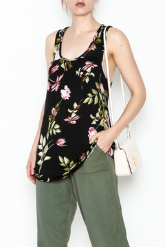 Shoptiques Product: Floral Zipper Tank