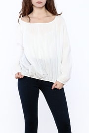 P.S. Shirt Summer Peasant Blouse - Front cropped