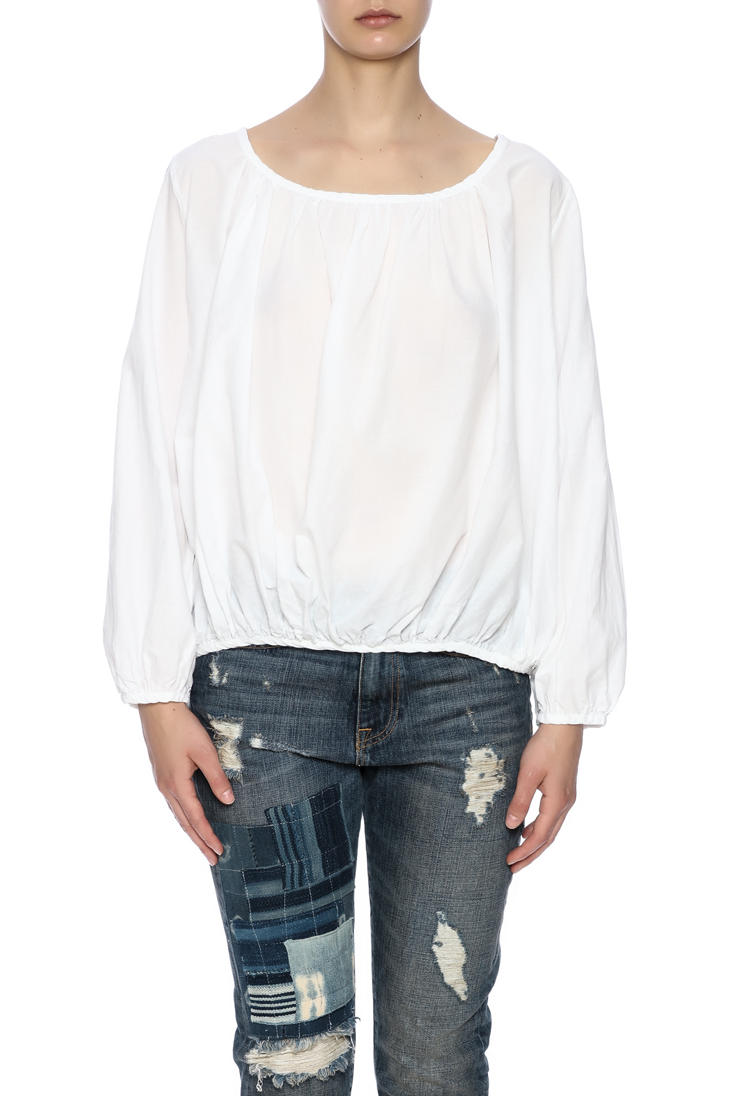 P.S. Shirt Summer Peasant Blouse - Side Cropped Image