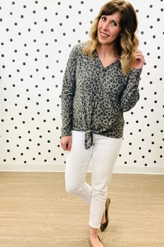 P.S Kate Leopard Button Down - Product List Image