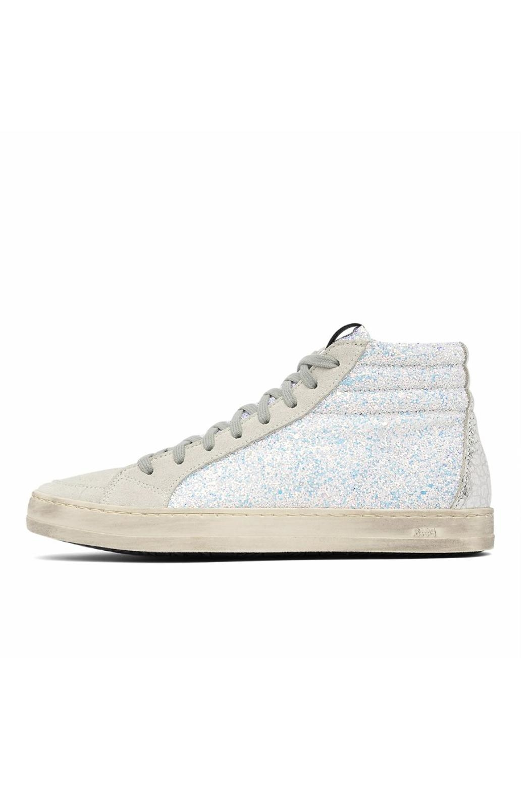 P448 Glitter Skate Hightops - Front Cropped Image