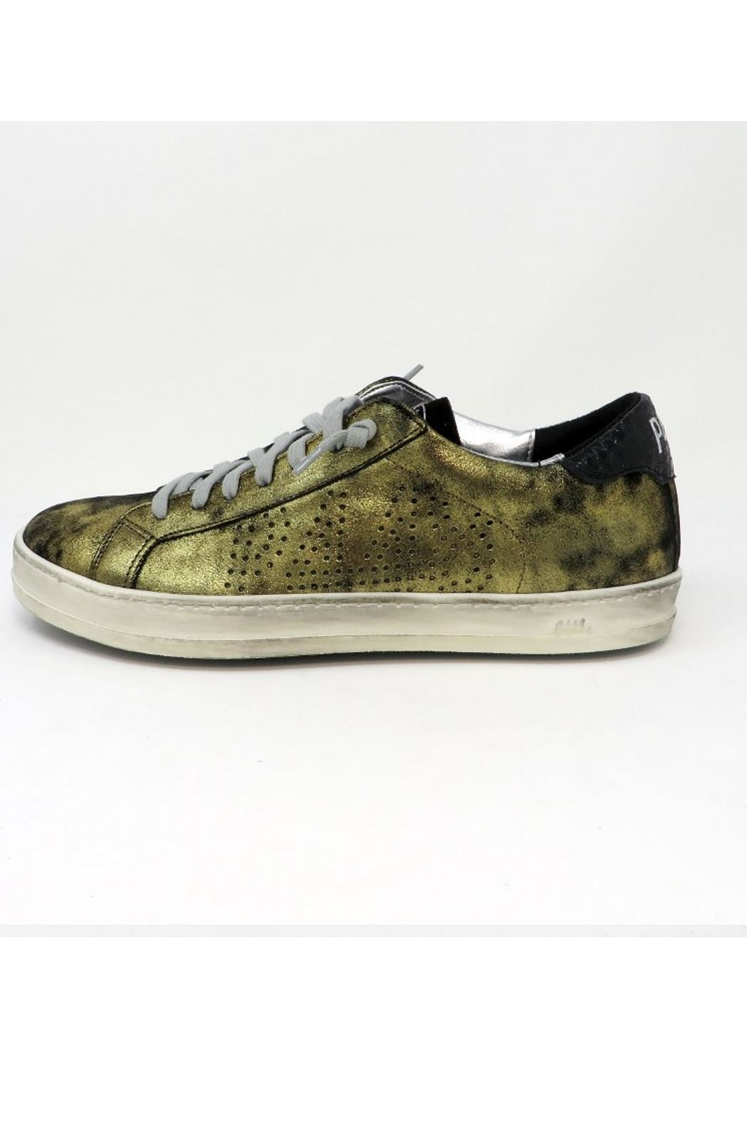 P448 Monet Leather Sneakers - Front Cropped Image