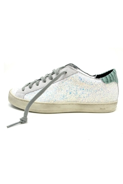Shoptiques Product: White Glitter Sneakers