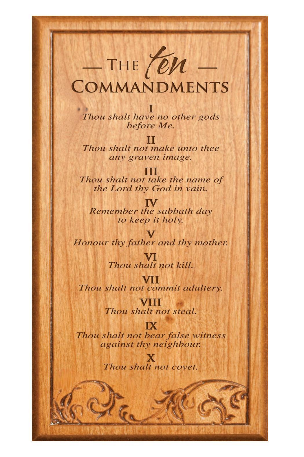 P Graham Dunn 10 Commandments Plaque from Kentucky by All the ...