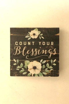 P Graham Dunn Blessings Box Sign - Product List Image