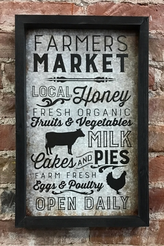 Shoptiques Product: Farmers Market Sign