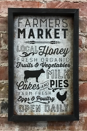 P Graham Dunn Farmers Market Sign - Product Mini Image