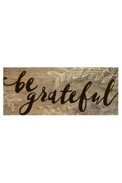 Shoptiques Product: Farmhouse Stick: Grateful