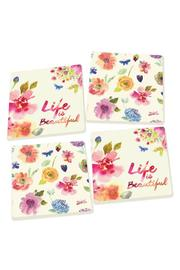 Shoptiques Product: Floral Coasters