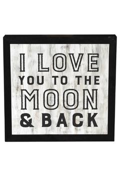 Shoptiques Product: Framed Art Moon