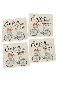 P Graham Dunn Enjoy Inspirational Coasters - Product List Image