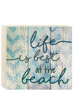 Shoptiques Product: Life Is Best at the Beach Pallet