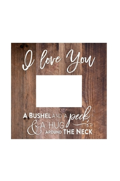 P Graham Dunn Love Picture Frame - Alternate List Image