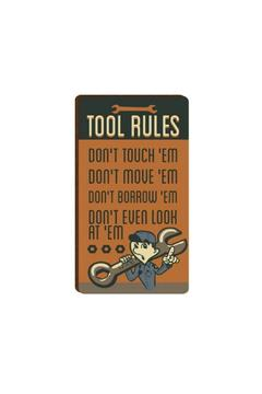 P Graham Dunn Magnet Tool Rules - Product List Image