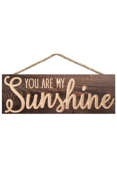 P Graham Dunn Sunshine Hanging Sign - Product List Image