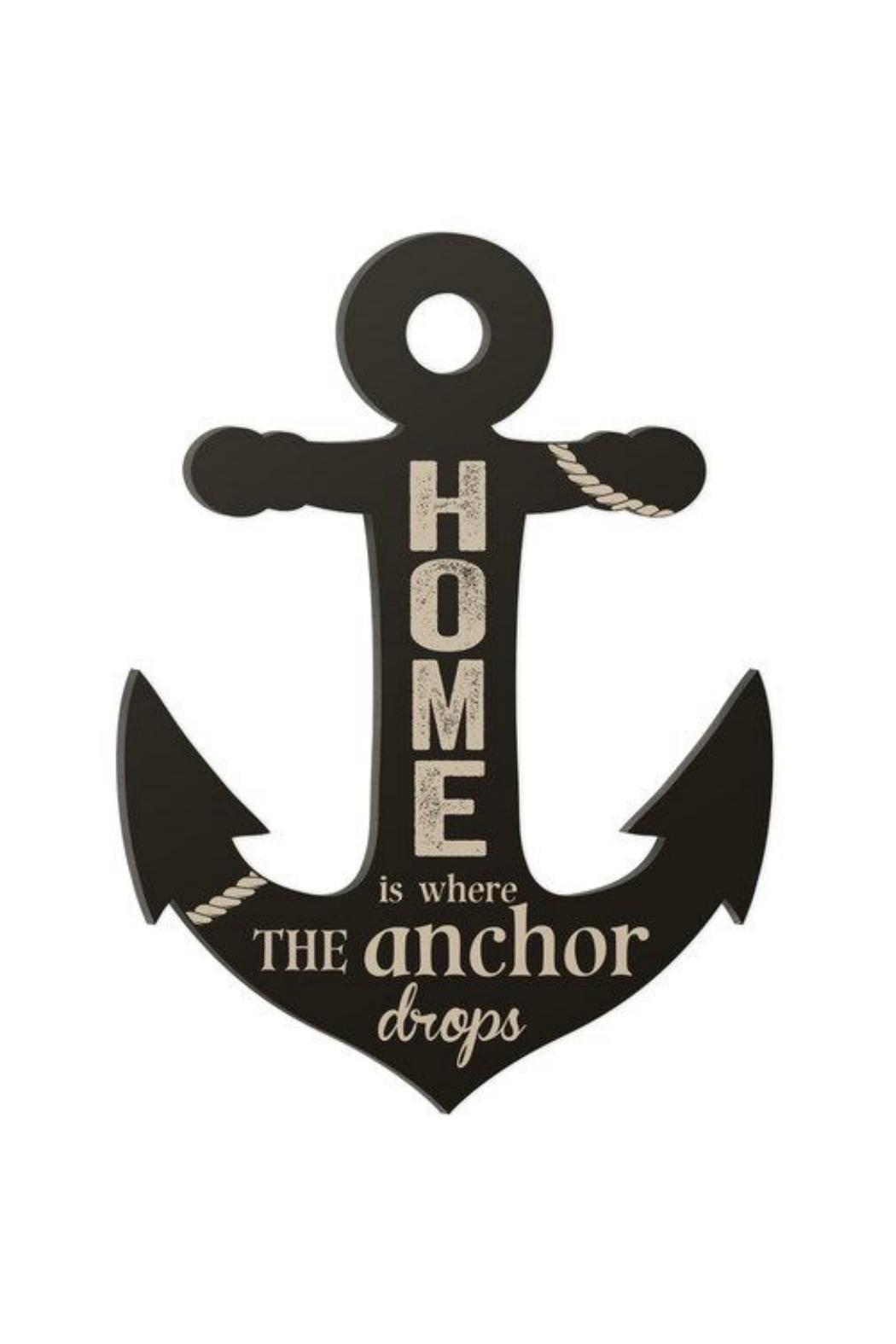 P Graham Dunn Anchor Word Art From South Carolina By Primitive Home