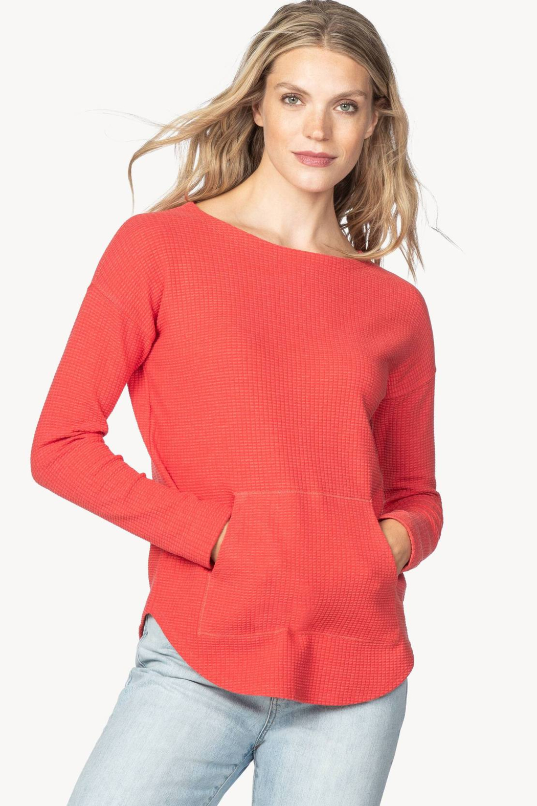 Lilla P PA1092 - Long Sleeved Boatneck - Front Cropped Image
