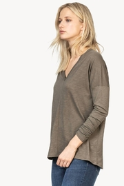 Lilla P PA1236 - Double V-Neck Tee - Product Mini Image