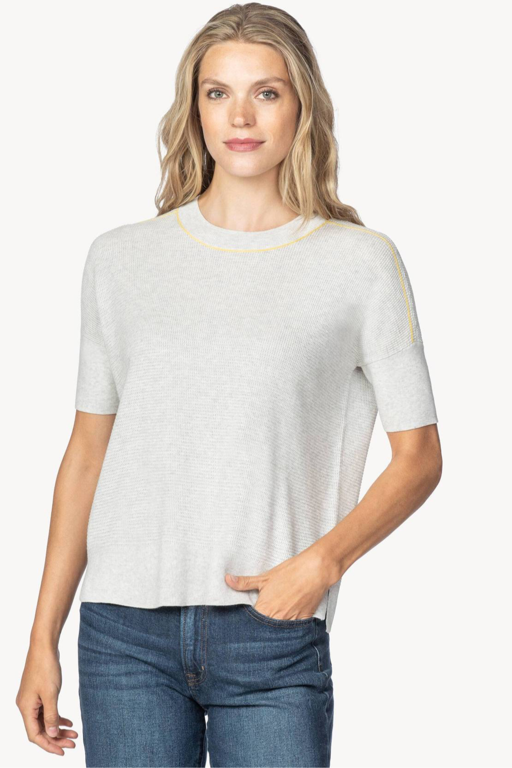 Lilla P PA1382 - Easy Sweatshirt Sweater - Front Cropped Image