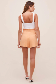 ASTR the Label Pacific Pleated Tie Waist Shorts - Product Mini Image