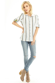 Aratta  Pacific Striped Shirt - Product Mini Image