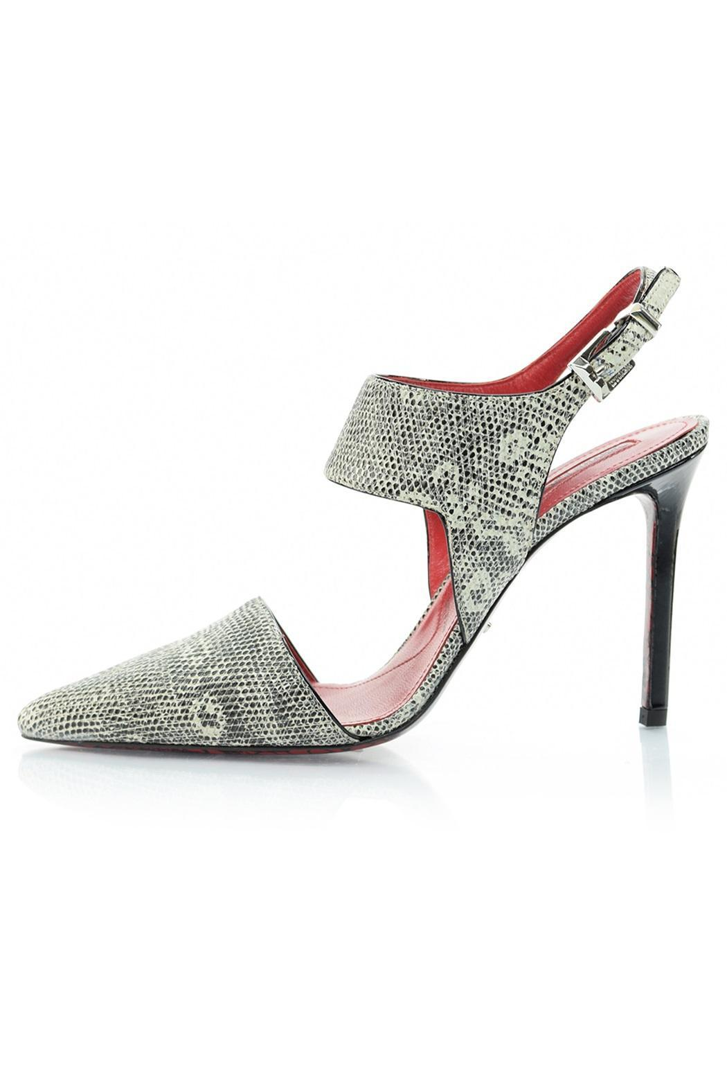 Paciotti Snakeskin Pump - Front Cropped Image