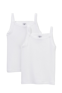 Shoptiques Product: Pack of 2 Girls' Camisoles with Lingerie Stitching Set