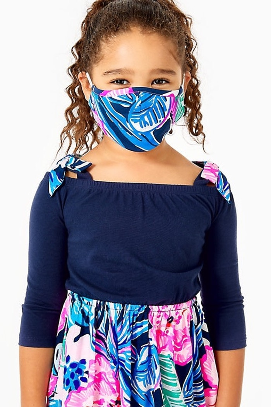 Lilly Pulitzer  Lilly Kids Face Masks - Pack of 3 - Front Full Image