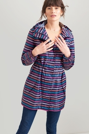 Joules Packable Raincoat - Front cropped