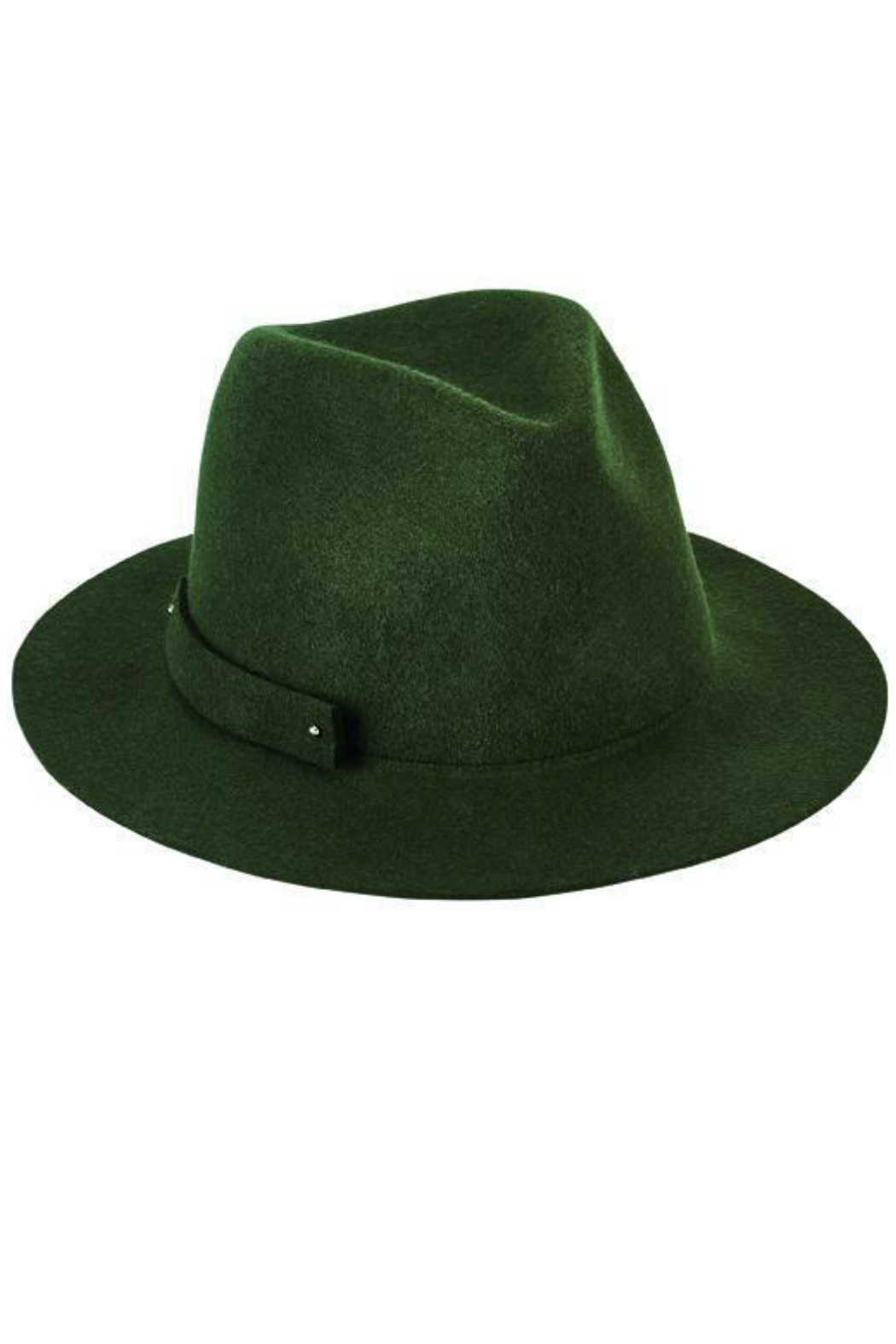 San Diego Hat Company Packable Wool Felt Fedora - Front Cropped Image