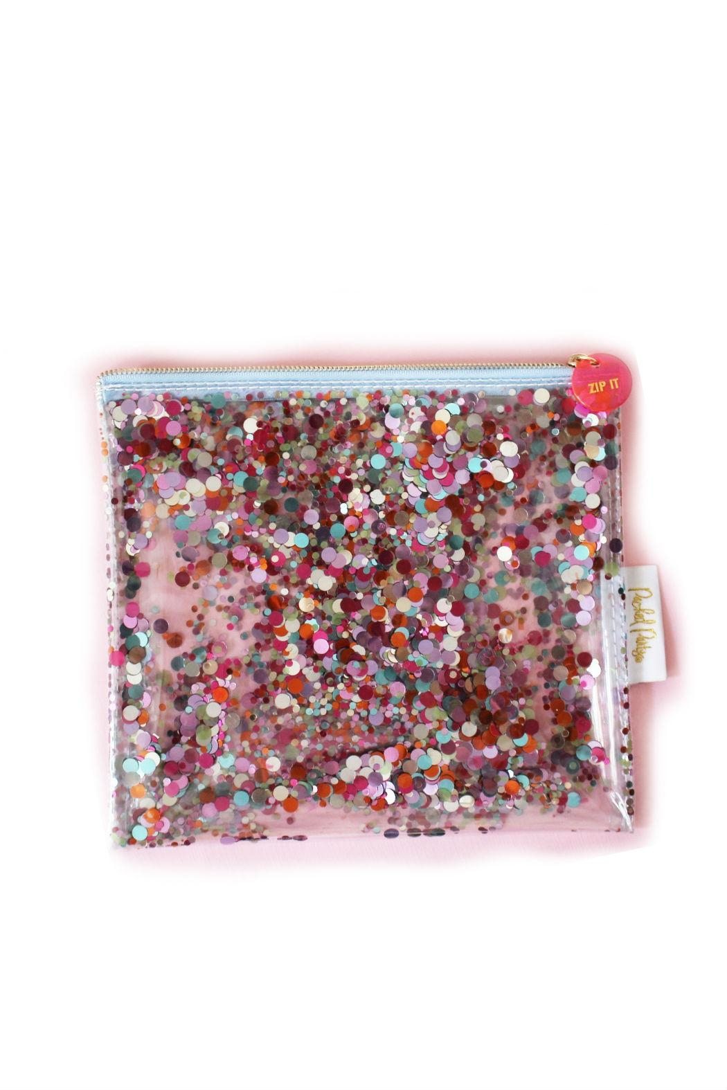 Packed Party Confetti Clutch - Front Cropped Image