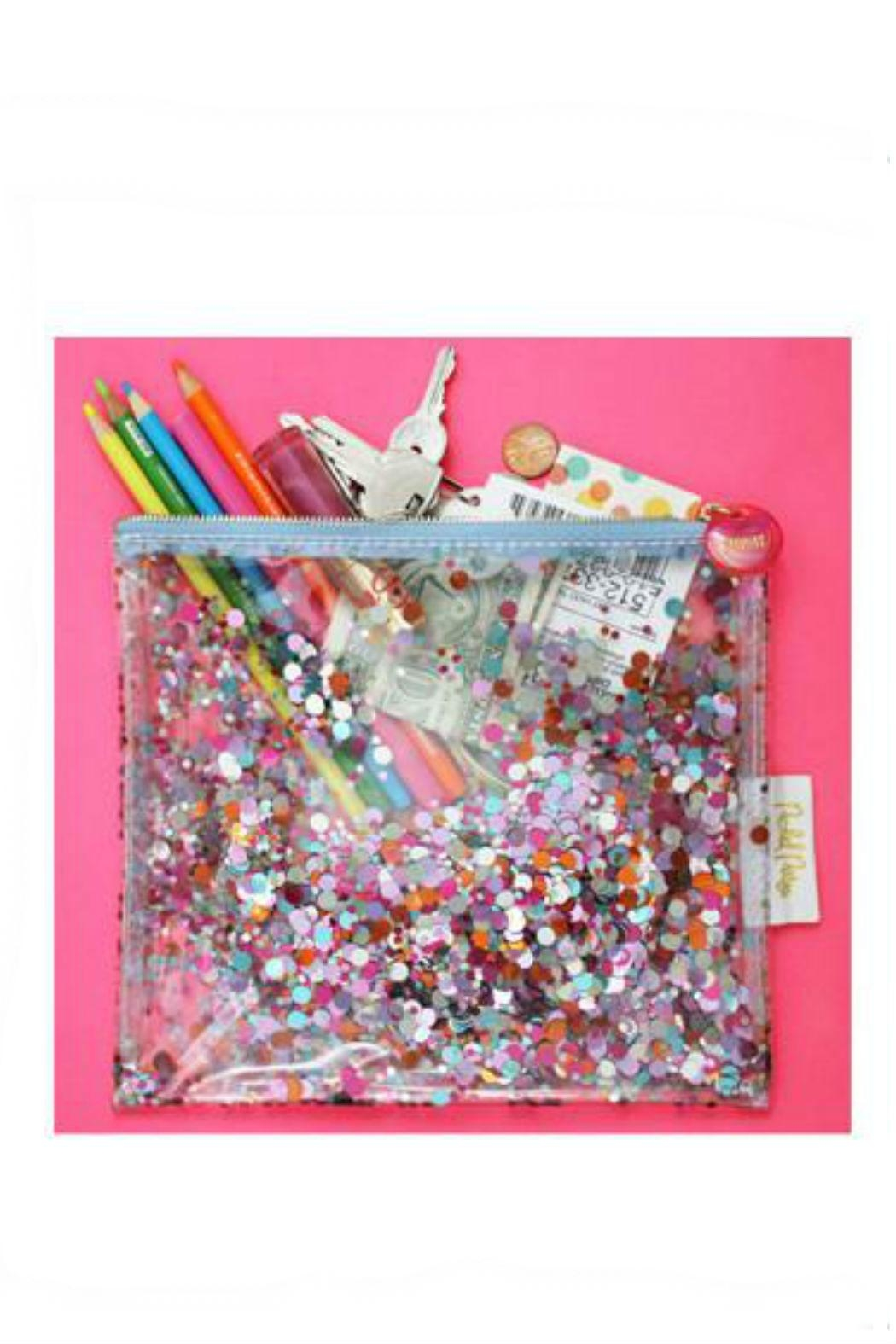 Packed Party Confetti Clutch - Side Cropped Image