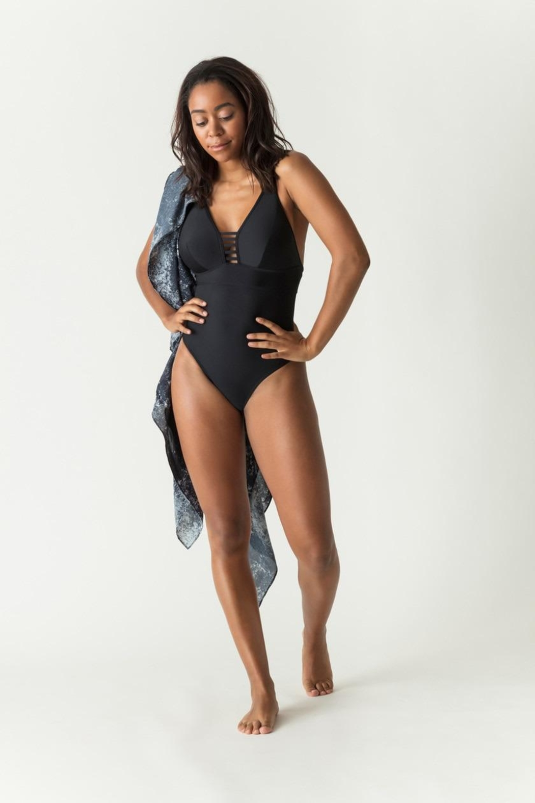 Prima Donna Padded High-Cut Swimsuit - Main Image