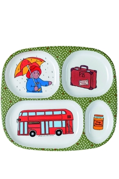 Paddington Bear Multi Compartment Plate - Alternate List Image