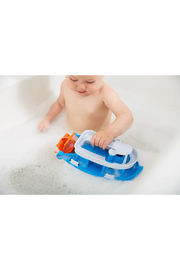 Green Toys Paddle Boat - Front full body