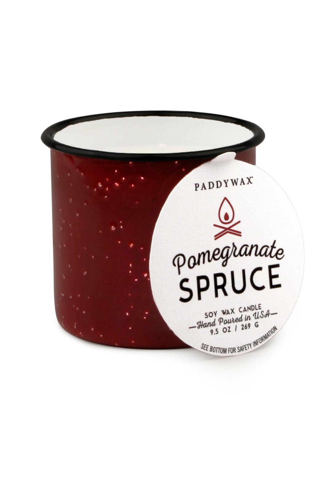 Paddywax Alpine Pomegranate Candle - Main Image