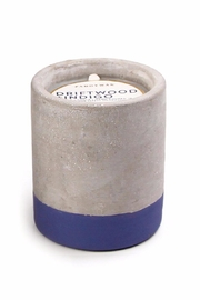 Paddywax Driftwood & Indigo Candle - Front cropped