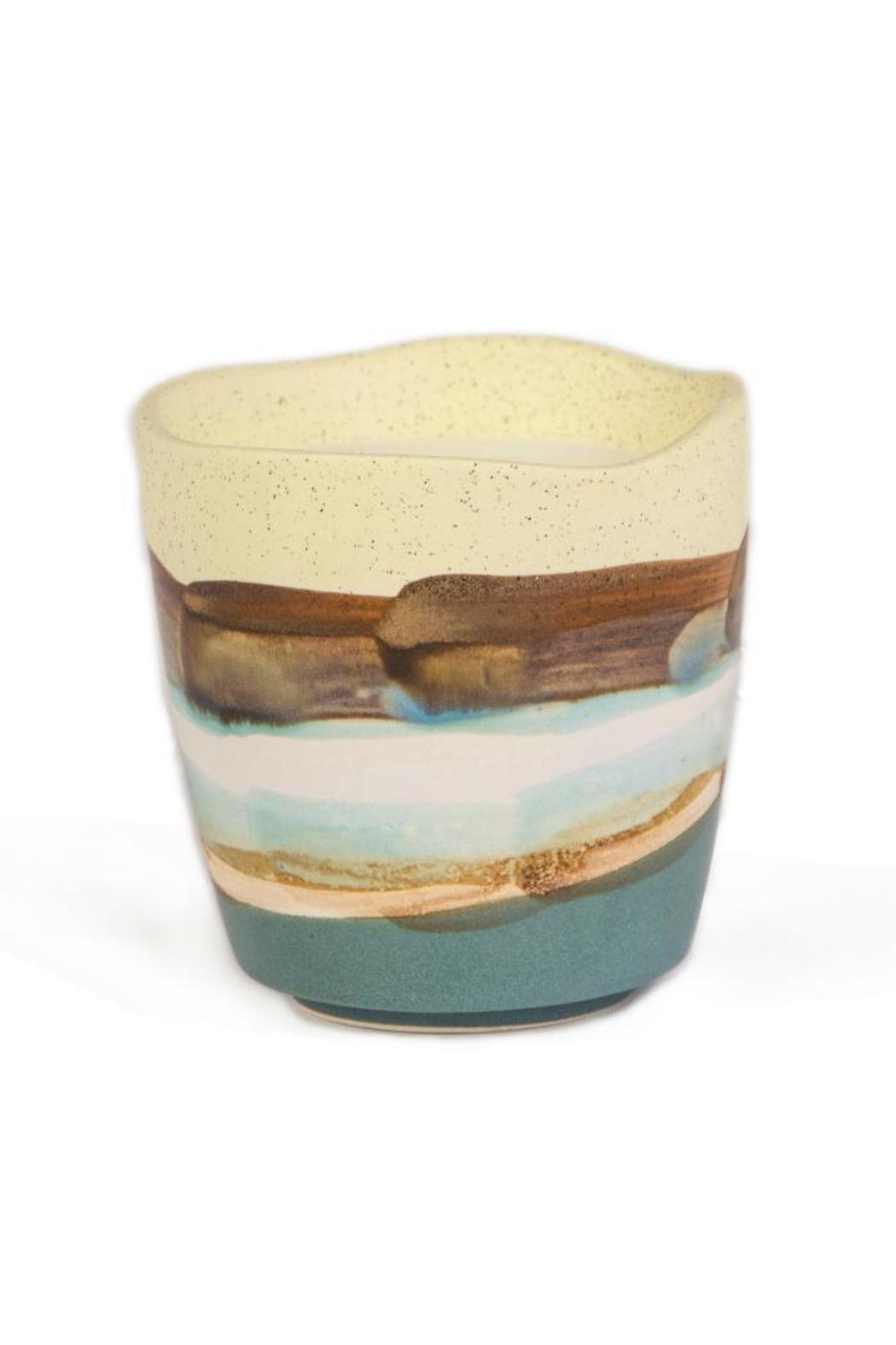 Paddywax Earthy Striped Candle - Main Image