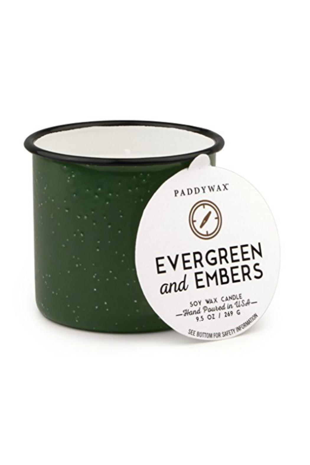 Paddywax Evergreen & Embers Candle - Main Image