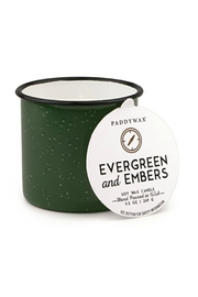 Paddywax Evergreen & Embers Candle - Front cropped