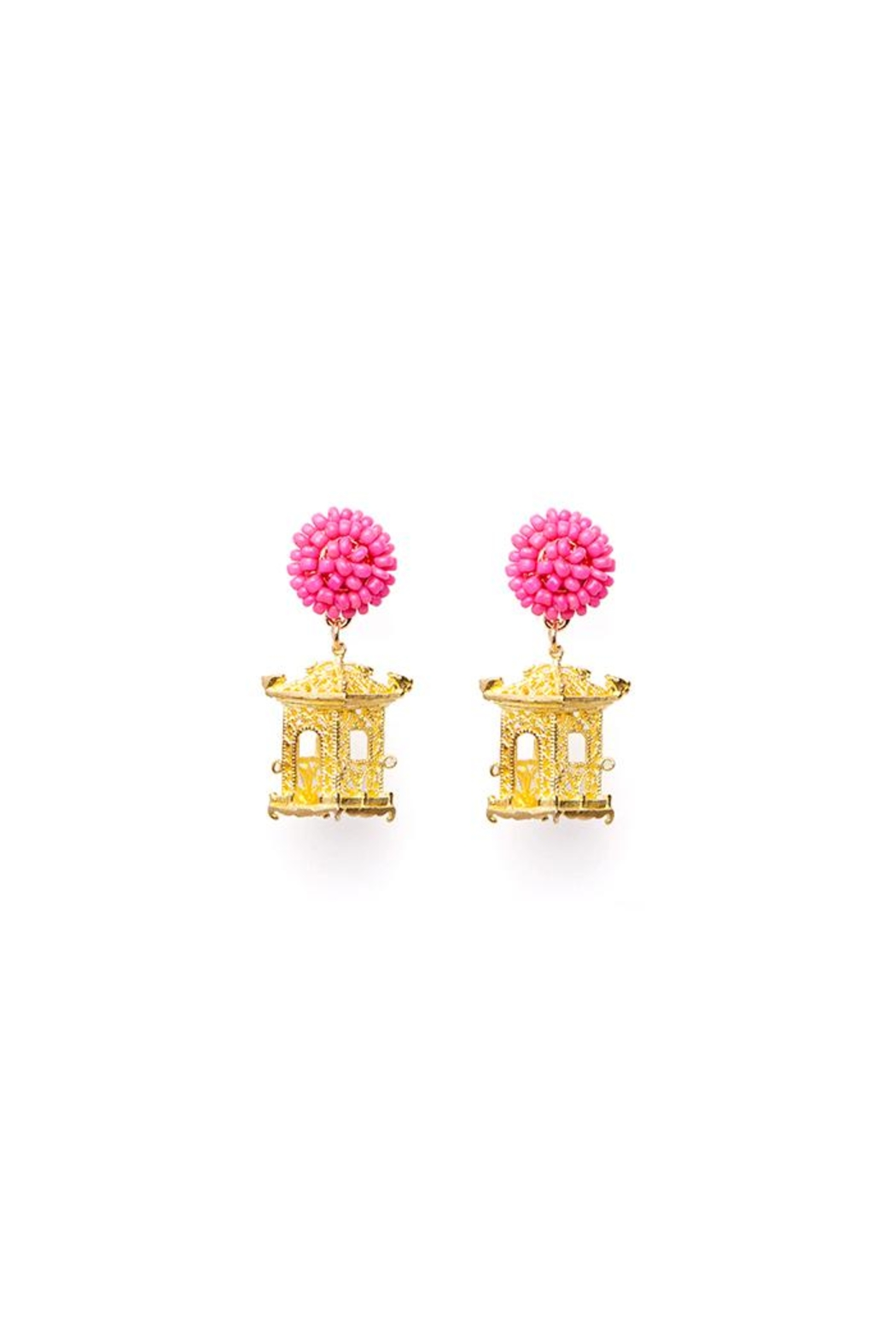 Fornash Pagoda Earrings From Virginia Shoptiques