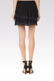 Paige Cara Eyelet Skirt - Front full body